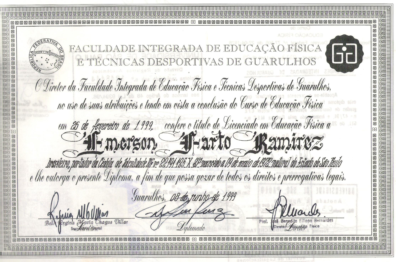 Titulo Licenciado Brasil