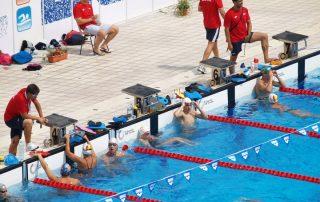 clínicas de natação