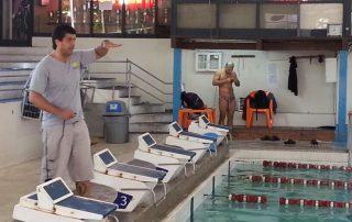 clinica de natacion en Paraguay