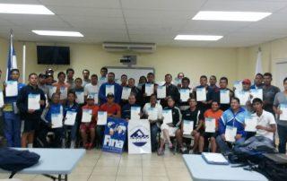 clinica de natacion en Honduras