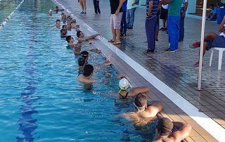 treino de natação brasil