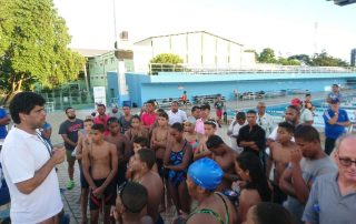 treinador de natação SP