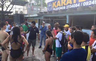 Clinica de natación en Ecuador